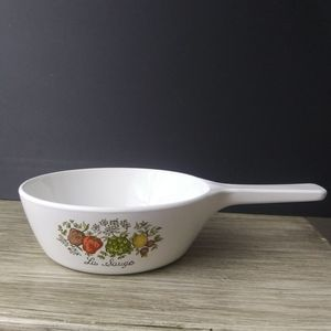 Vintage Corningware Spice of Life Small Skillet